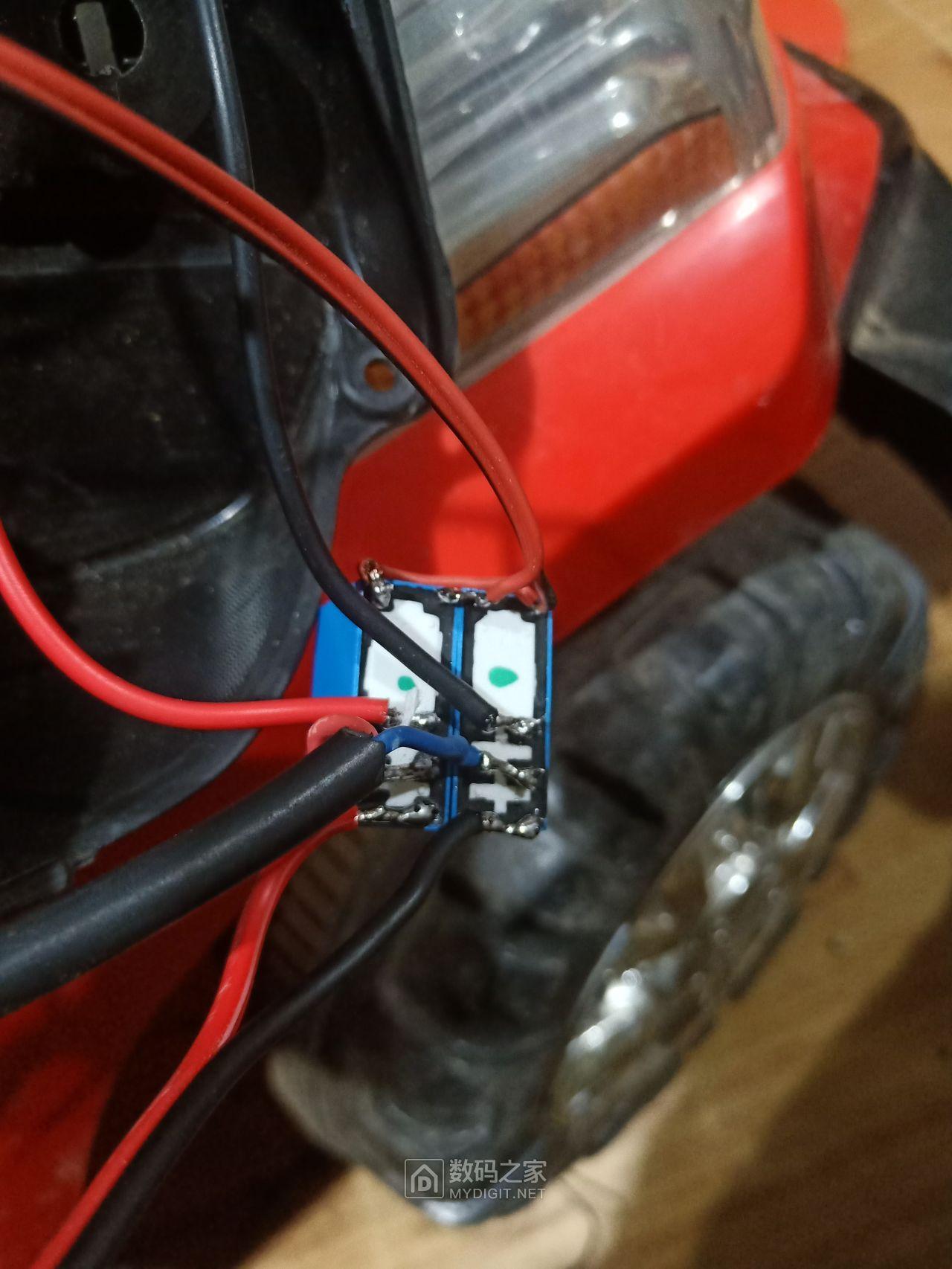 不求M币只为记录过程---折腾儿子的电动汽车(二)改遥控前进后退篇
