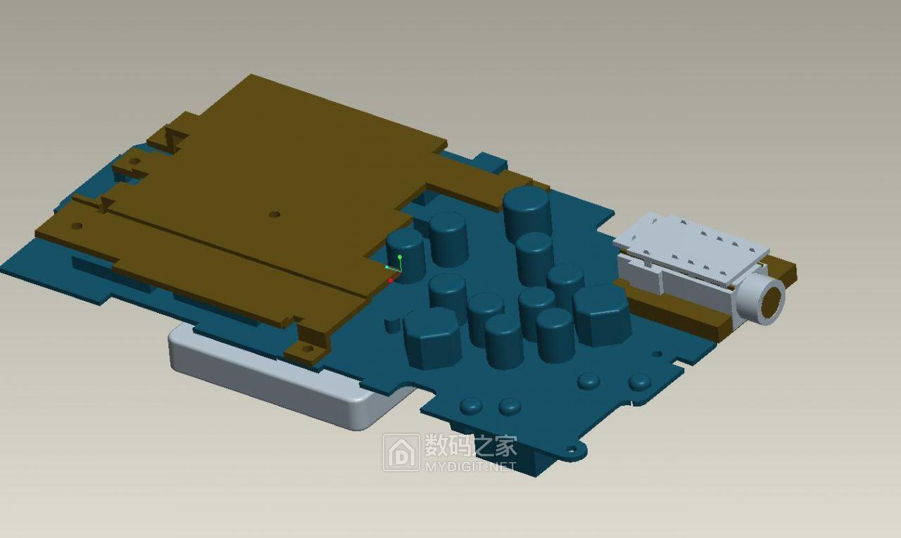 3D图电路板和4.4插座位置