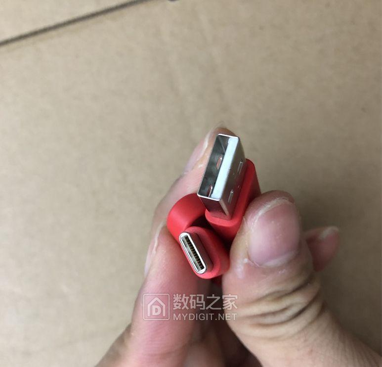 2元一根 type-c数据线 25CM短线 3A快充 面条线 充电宝必备 非偏远包邮
