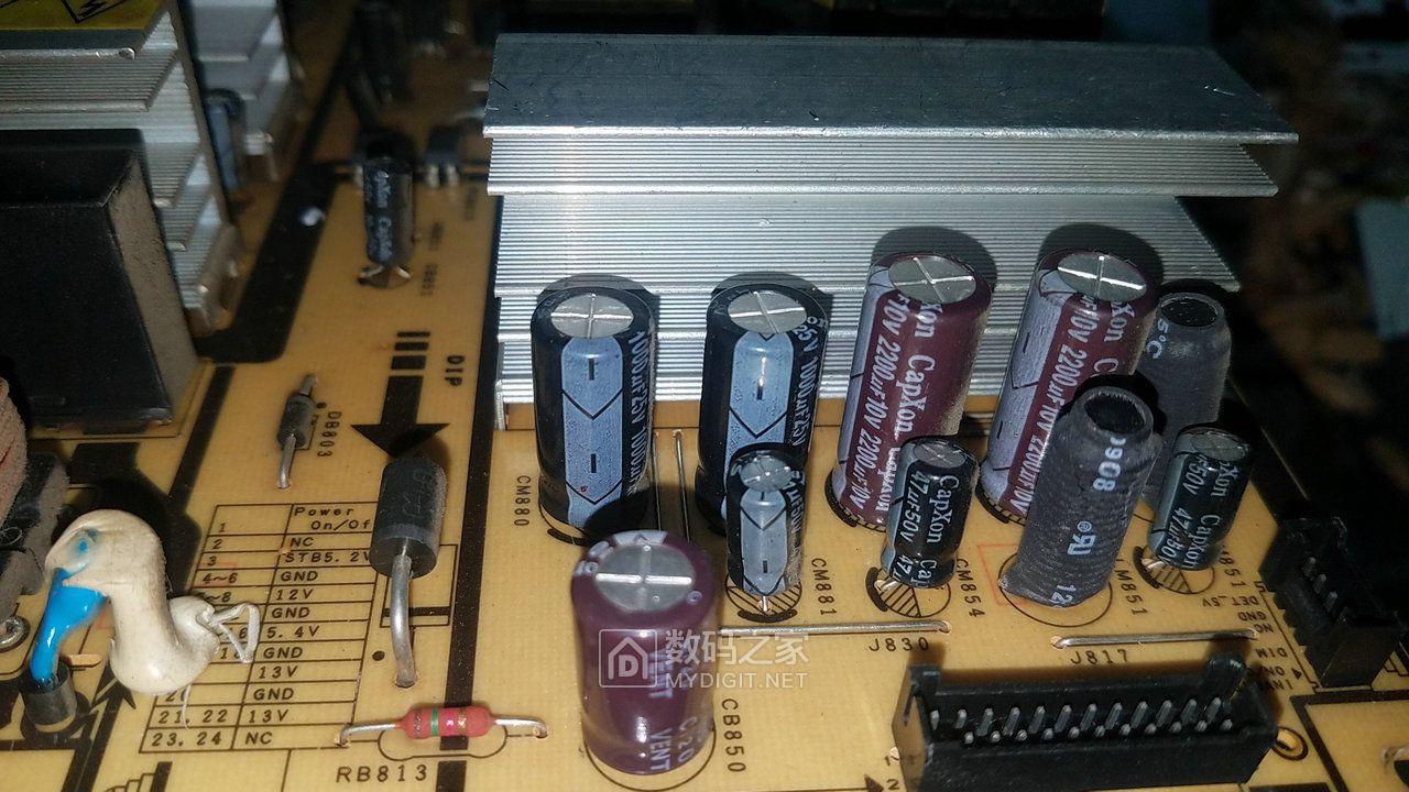 这个确实不错C牌电容好印象!!!多年没鼓包也算好货了。