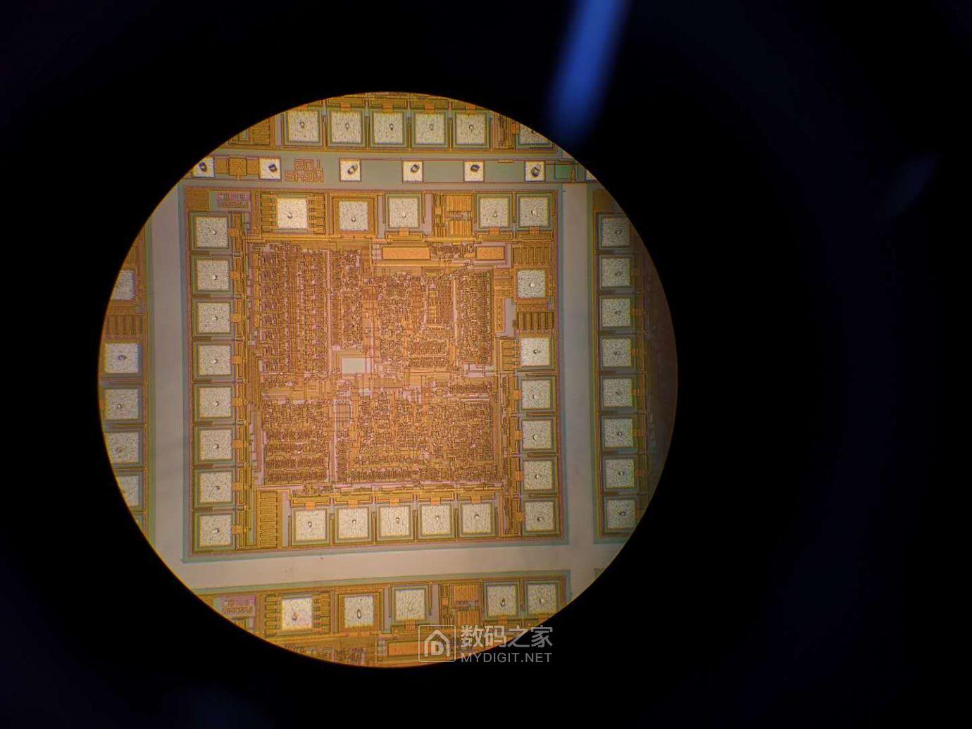 100倍显微镜下的晶粒