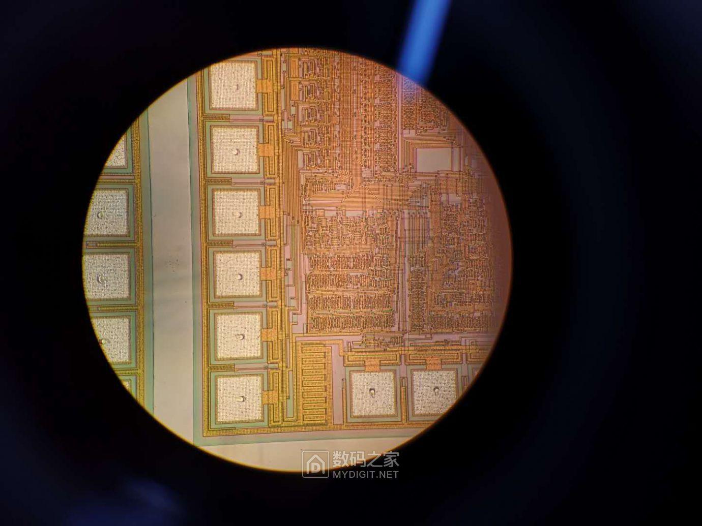 200倍显微镜下的晶粒