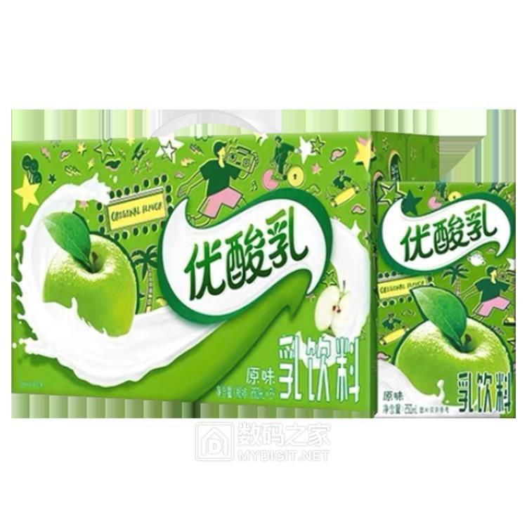 【京东-Lg】  优酸乳 乳饮料250ml*24盒,拍4件124.46  https://u.jd.com/XGDBjU