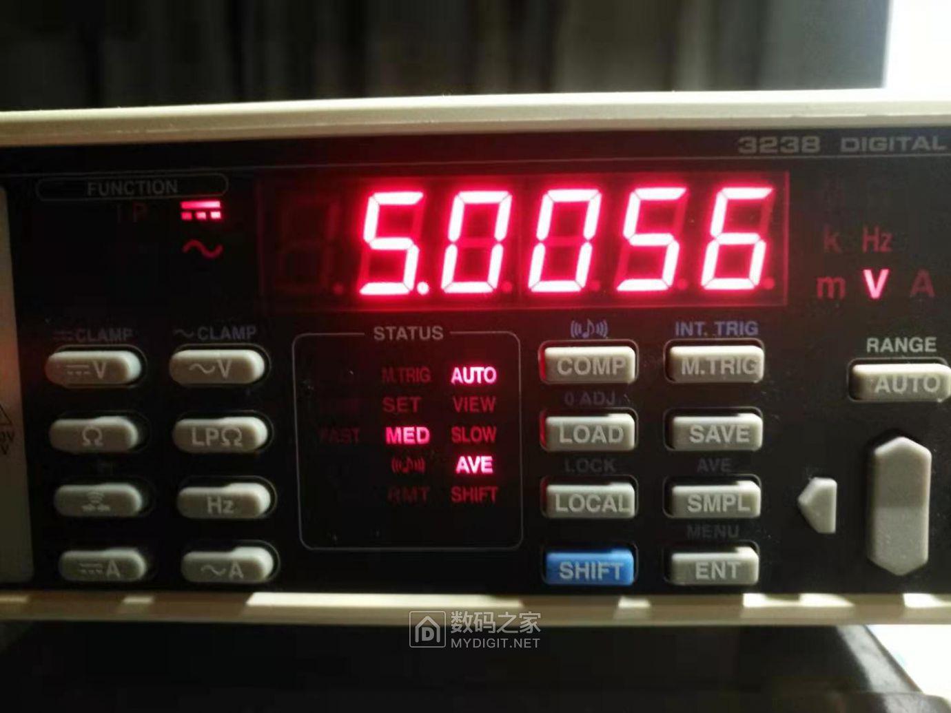 3238万用表测量电压
