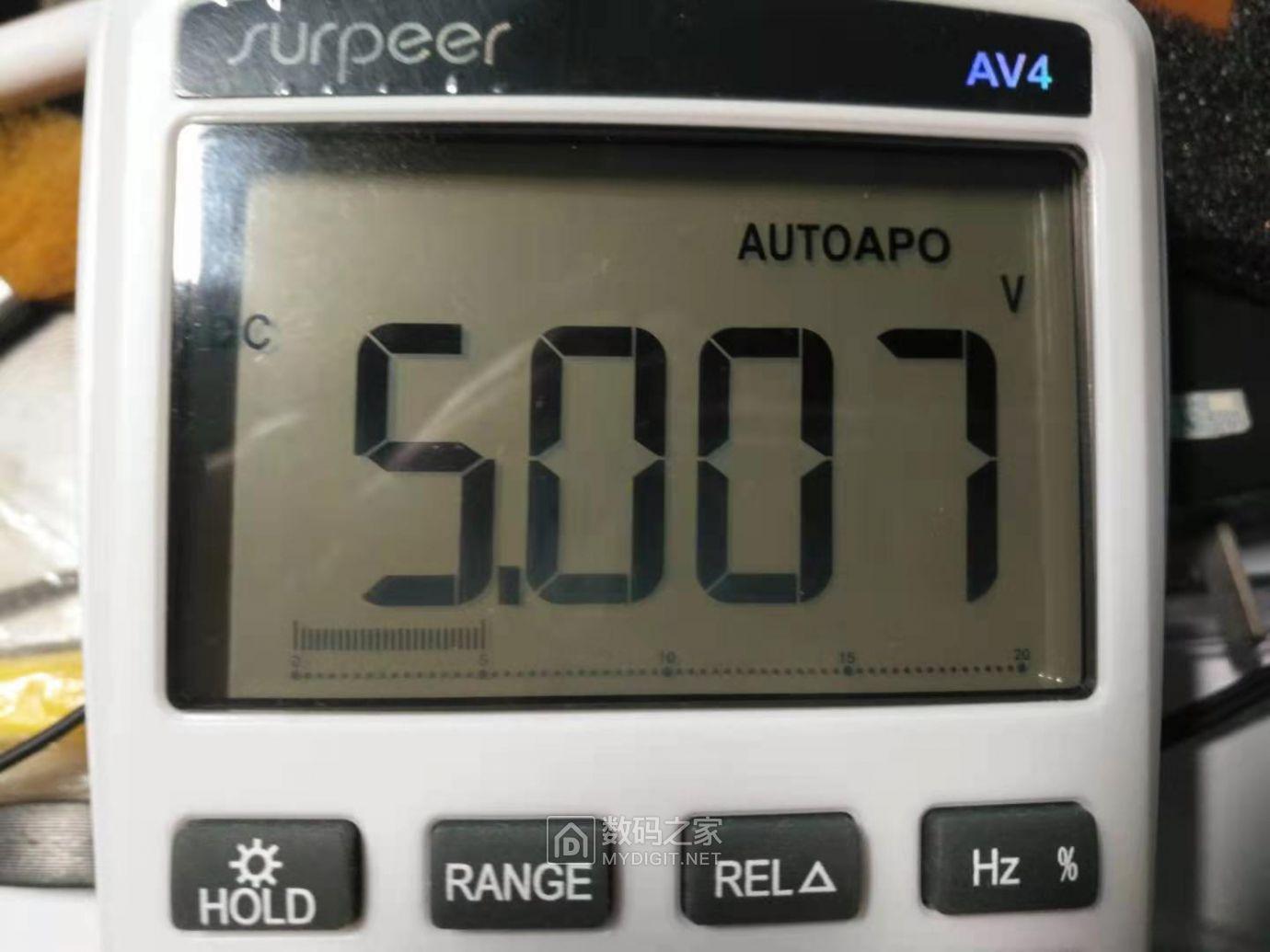 AV4测量电压