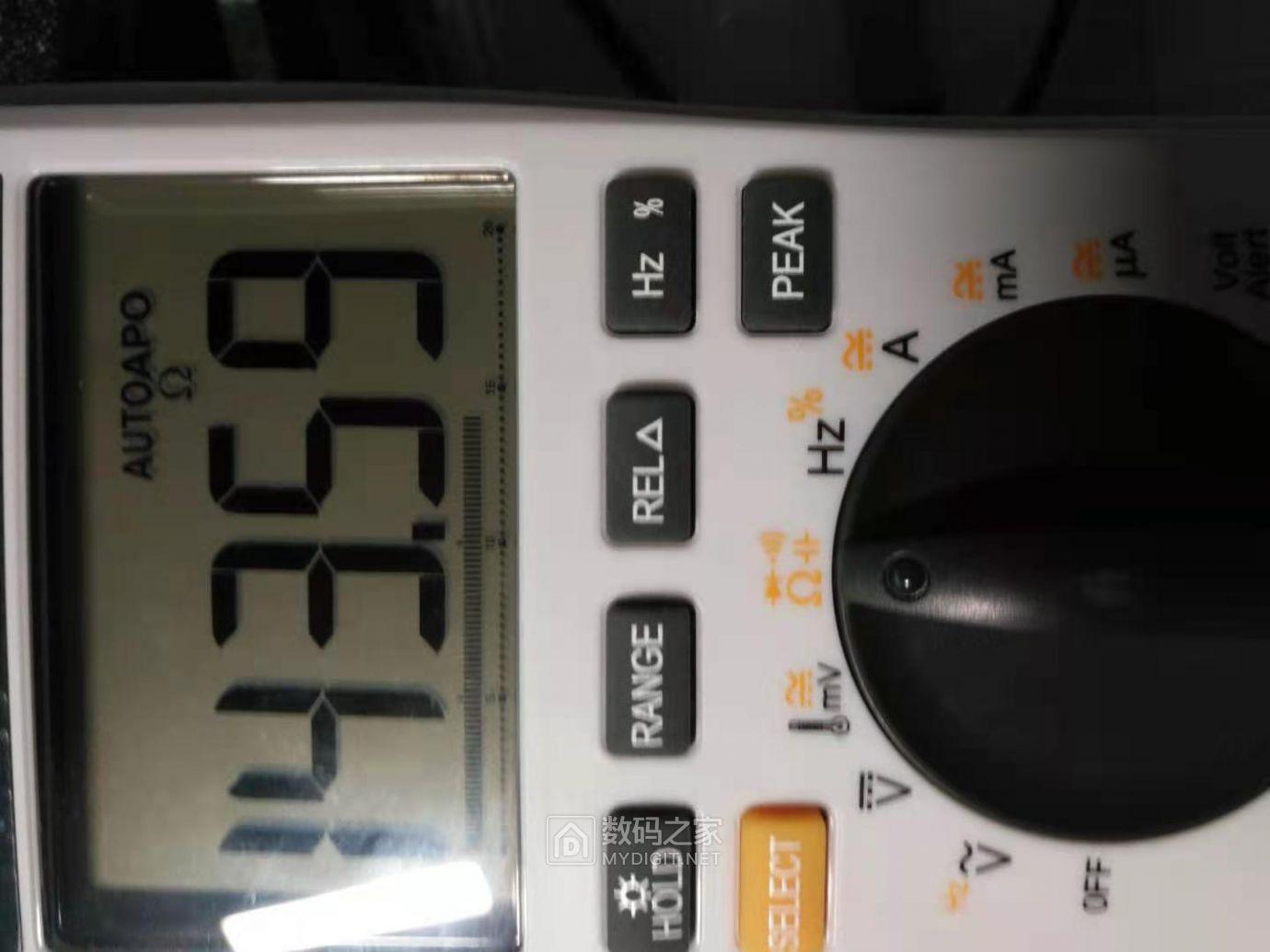 电阻档测量