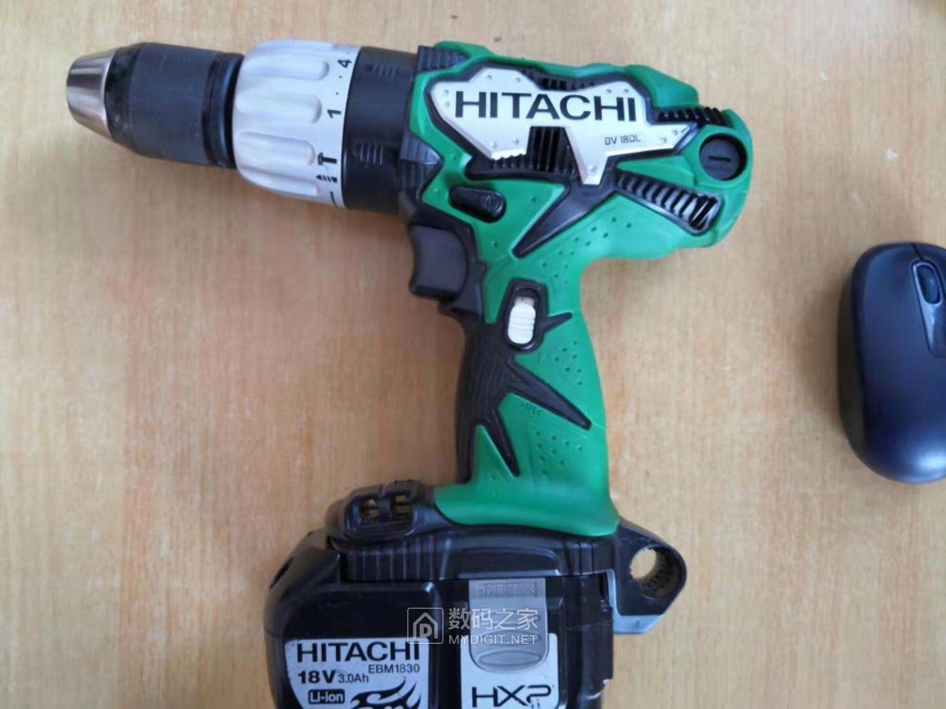 便宜的和贵的手电钻拆解对比(HITACHI DV180L VS TNT) 好货大家谈 第1张