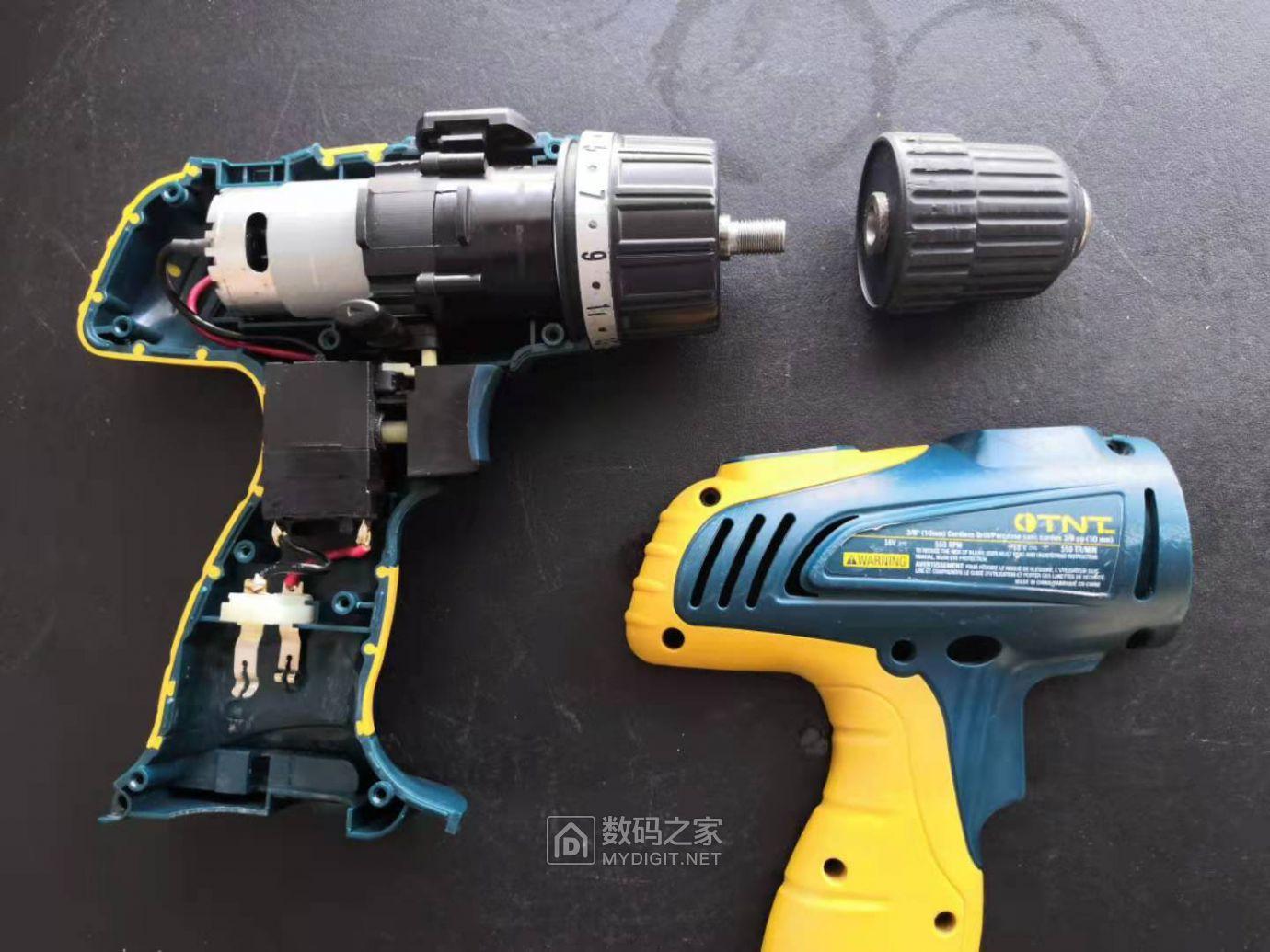 便宜的和贵的手电钻拆解对比(HITACHI DV180L VS TNT) 好货大家谈 第8张