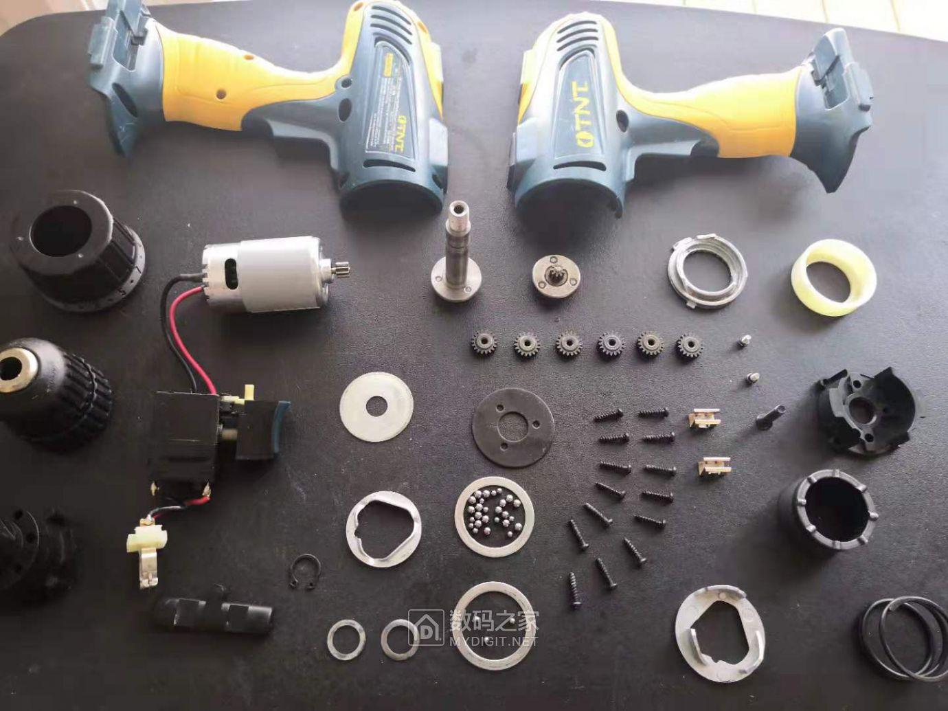 便宜的和贵的手电钻拆解对比(HITACHI DV180L VS TNT) 好货大家谈 第11张