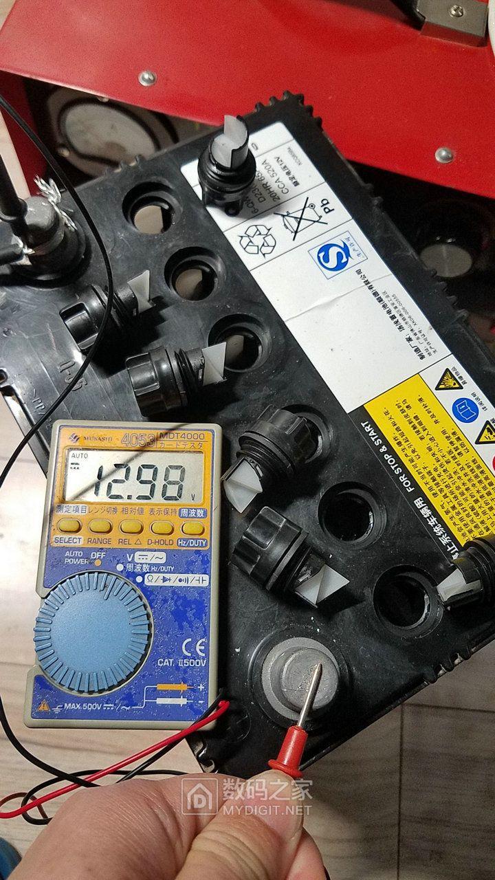 虽然电压可达到12.5V以上