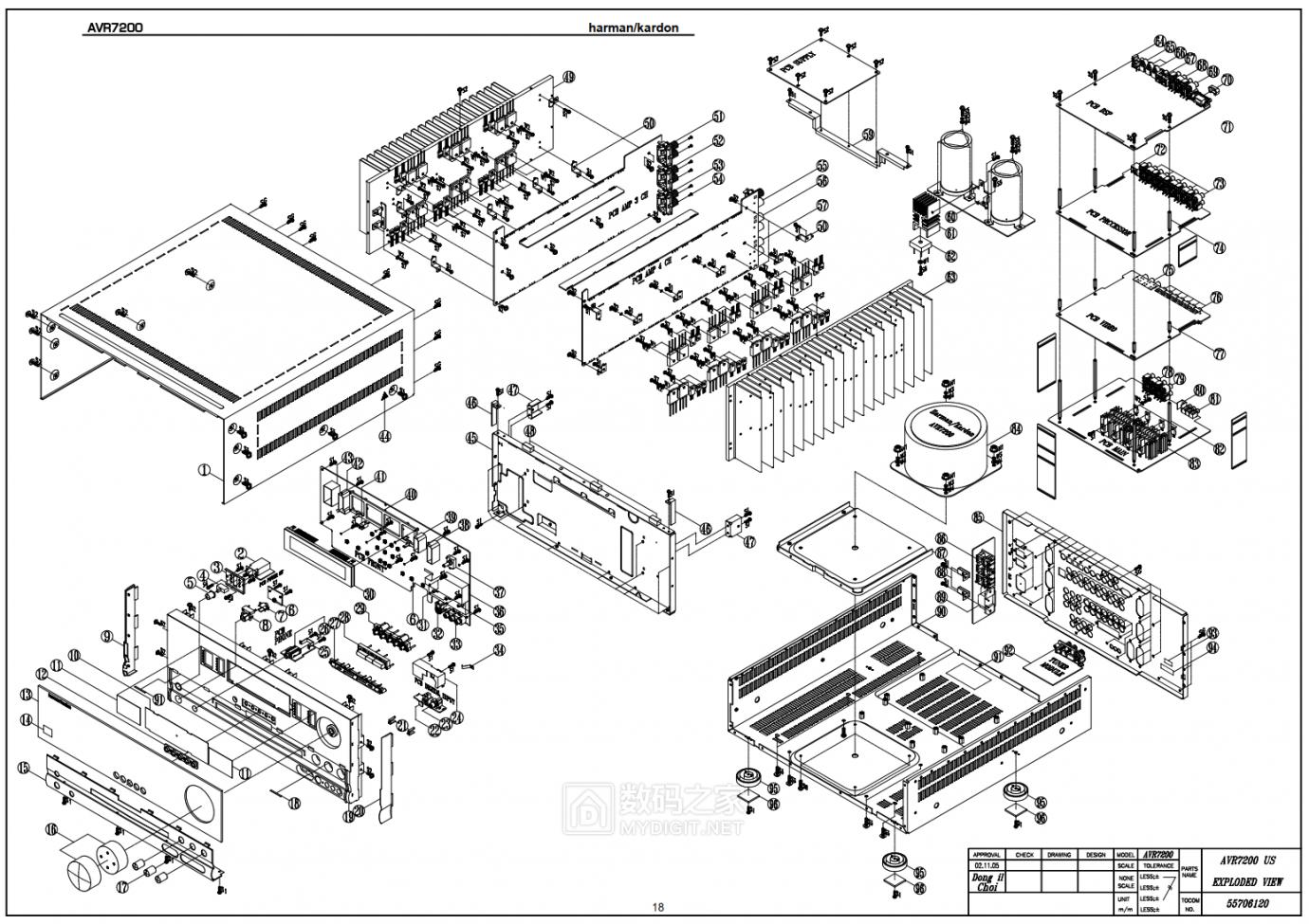 【热点】维修利利普OWON-SDS8102V示波器旋钮失灵,拆机更换全部编码器 数码拆机百科 第11张