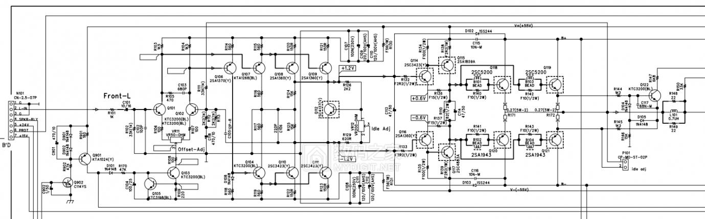 【热点】维修利利普OWON-SDS8102V示波器旋钮失灵,拆机更换全部编码器 数码拆机百科 第10张