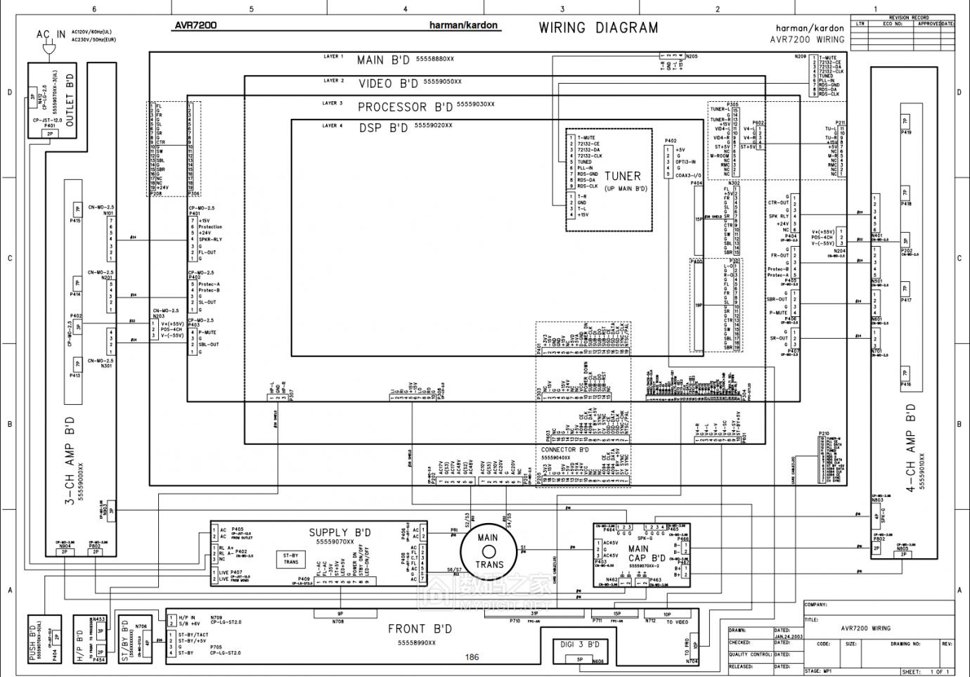 【热点】维修利利普OWON-SDS8102V示波器旋钮失灵,拆机更换全部编码器 数码拆机百科 第5张