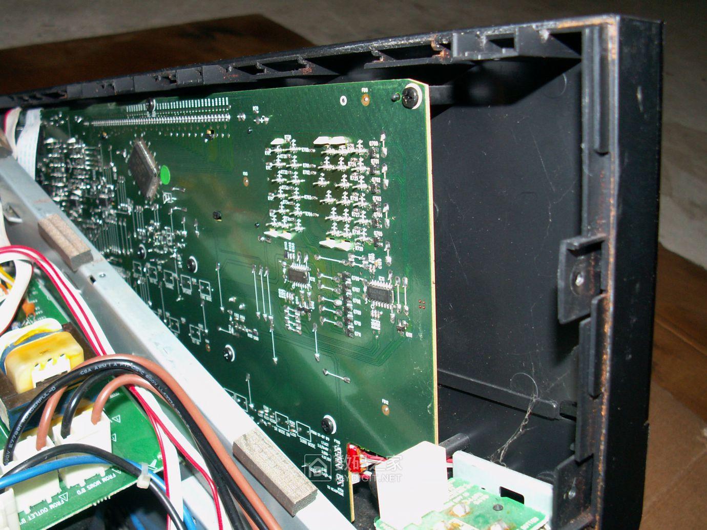 【热点】维修利利普OWON-SDS8102V示波器旋钮失灵,拆机更换全部编码器 数码拆机百科 第41张
