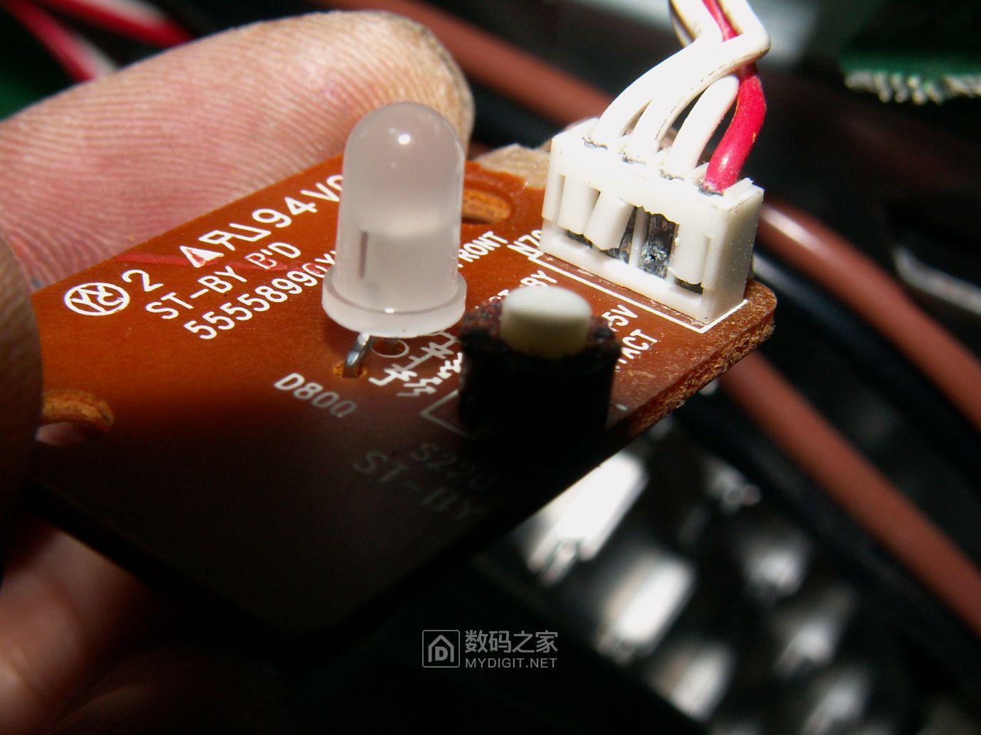 【热点】维修利利普OWON-SDS8102V示波器旋钮失灵,拆机更换全部编码器 数码拆机百科 第49张