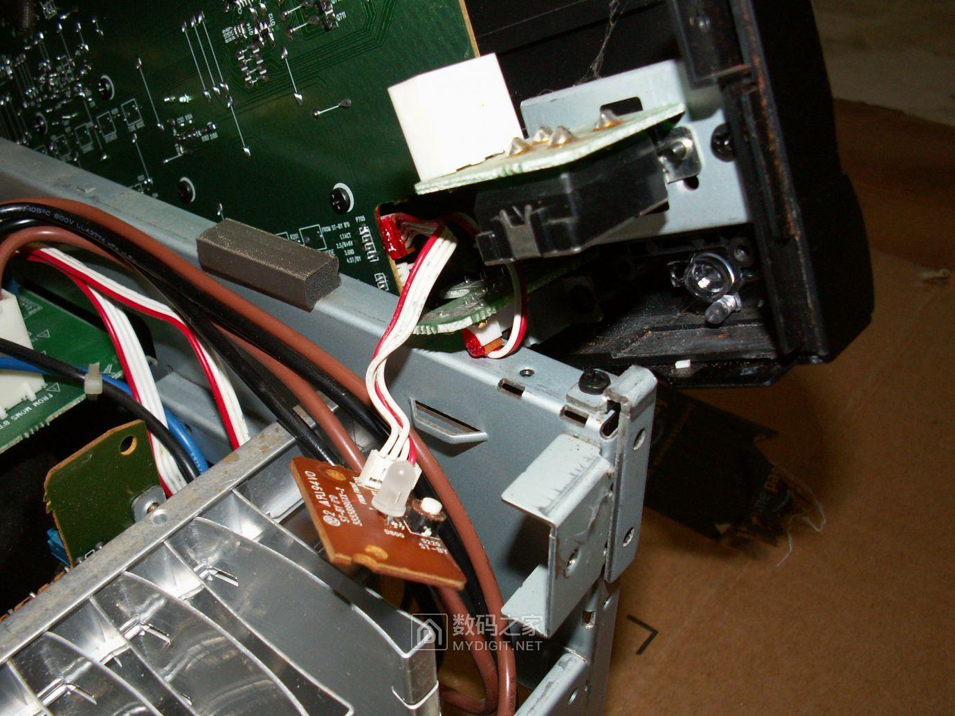 【热点】维修利利普OWON-SDS8102V示波器旋钮失灵,拆机更换全部编码器 数码拆机百科 第46张