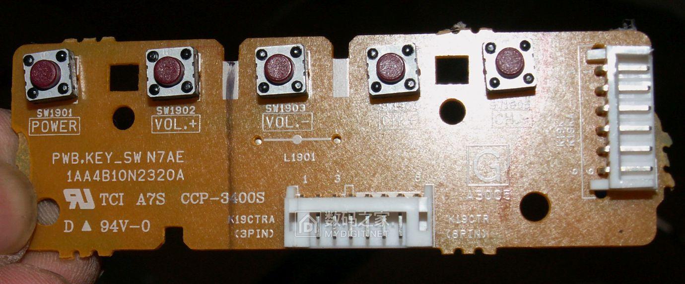 【热点】维修利利普OWON-SDS8102V示波器旋钮失灵,拆机更换全部编码器 数码拆机百科 第51张