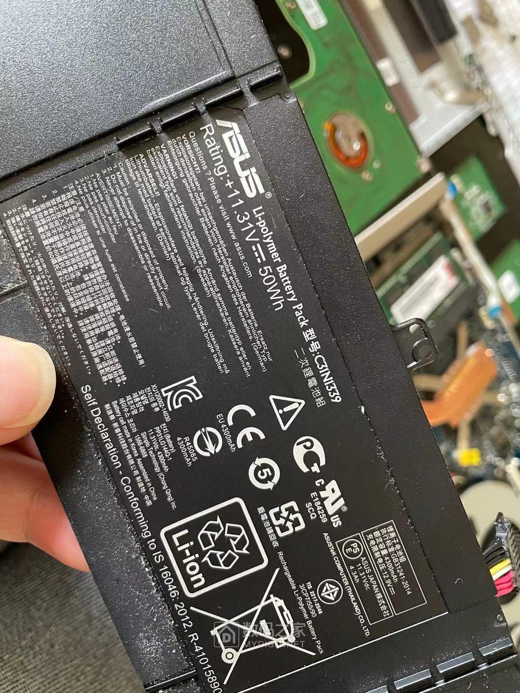 华硕U303U笔记本无法充电维修,BQ24780S电池管理电路故障引起 数码拆机百科 第4张