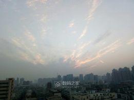 今天早晨的云彩。。。。。。。