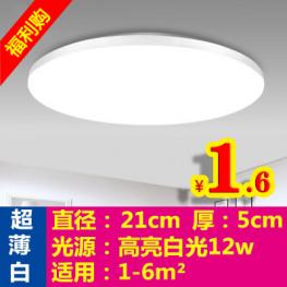 12W改造灯板1.2 圆形吸顶灯1.6 定时插座12 碳晶暖脚垫14 75度酒精4.9 军工刀9