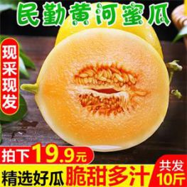 20包香辣海带片10.9元!黑布林5斤李子10.6元!蜜瓜10斤23.9元!红薯干6.9元!
