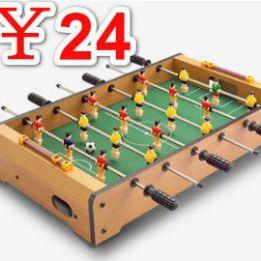 儿童桌上足球机24,儿童实验玩具9.9