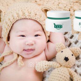 草本贝贝草本修护霜强化宝宝肌肤屏障,拒绝湿疹红痒感